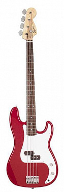 БАС-ГИТАРА FENDER SQUIER AFFINITY P-BASS RW METALLIC RED