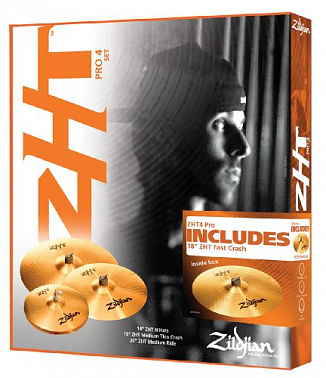 КОМПЛЕКТ ТАРЕЛОК ZILDJIAN ZHT ROCK PROMO BOX SET
