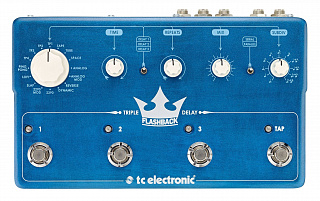 ГИТАРНЫЙ ЭФФЕКТ TC ELECTRONIC FLASHBACK TRIPLE DELAY