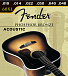 СТРУНЫ FENDER STRINGS NEW ACOUSTIC 60XL PHOS BRNZ BALL
