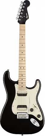 FENDER Squier Contemporary Stratocaster HH Maple Fingerboard Black Metallic