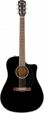 Электроакустика FENDER CD-60SCE Dread Black WN