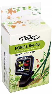 ТЮНЕР-МЕТРОНОМ FORCE TM-03