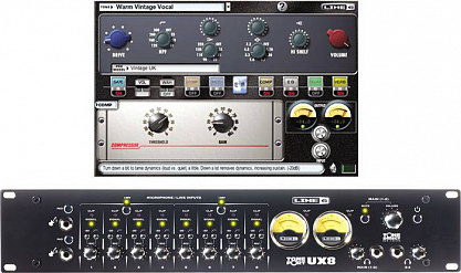 АУДИО ИНТЕРФЕЙС LINE 6 TONEPORT UX8 AUDIO USB RACK INTERFACE