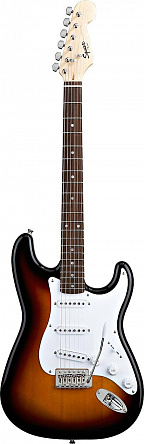 FENDER SQUIER BULLET WITH TREMOLO RW BROWN SUNBURST
