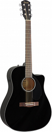 Электроакустическая гитара FENDER CD-60SCE BLK
