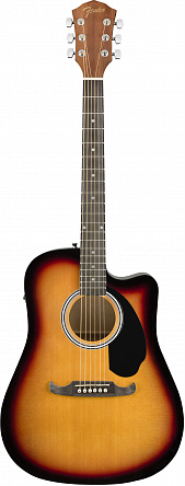 Электроакустика FENDER FA-125CE Dreadnought Sunburst