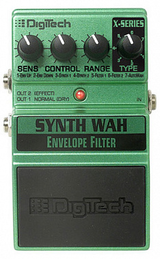 ГИТАРНЫЙ ЭФФЕКТ DIGITECH XSW SYNTH WAH ENVELOPE