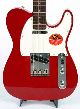 ЭЛЕКТРОГИТАРА FENDER SQUIER STANDARD TELE RW CANDY APPLE RED