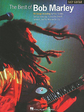 HAL LEONARD EZGTR THE BEST OF BOB MARLEY