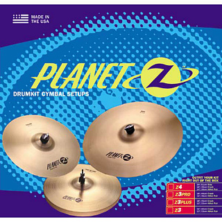 КОМПЛЕКТ ТАРЕЛОК ZILDJIAN PLANET Z