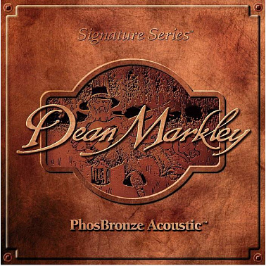 СТРУНЫ DEAN MARKLEY PHOSBRONZE ACOUSTIC 2063 (92/8) LT