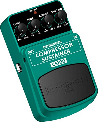 ГИТАРНЫЙ ЭФФЕКТ BEHRINGER COMPRESSOR/ SUSTAINER CS100
