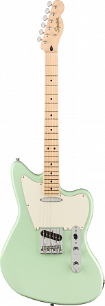 FENDER SQUIER Paranormal Offset Telecaster®, Maple Fingerboard, Surf Green