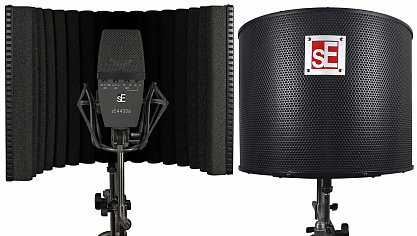 SE ELECTRONICS SE 4400A + REFLEXION FILTER PROJECT STUDIO