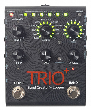 Гитарный эффект DIGITECH TRIO+ Band Creator+Looper