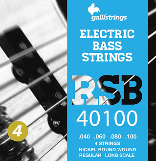 Струны GALLI STRINGS RSB40100