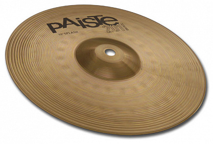 "ТАРЕЛКА PAISTE 10"" SPLASH 201 BRONZE"