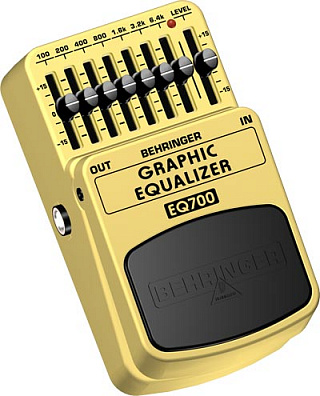 ЭКВАЛАЙЗЕР BEHRINGER  EQ700 GRAPHIC EQUALIZER