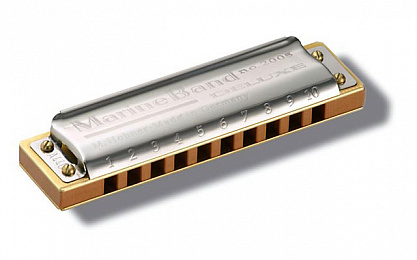 HOHNER MARINE BAND DE LUX2005/20 DB