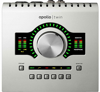 Аудио интерфейс UNIVERSAL AUDIO APOLLO TWIN USB