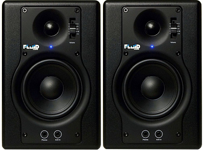 Студийные мониторы FLUID AUDIO F4 (пара)