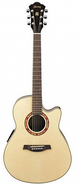 ЭЛЕКТРОАКУСТИЧЕСКАЯ ГИТАРА IBANEZ AEF18E NATURAL