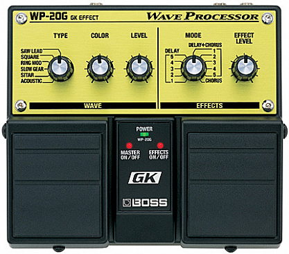 ДВОЙНАЯ ПЕДАЛЬ BOSS WAVE PROCESSOR WP-20G