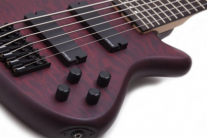 БАС-ГИТАРА SCHECTER STILETTO CUSTOM-6 VRS