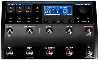 ПРОЦЕССОР TC HELICON VoiceLive 2 with VLOOP