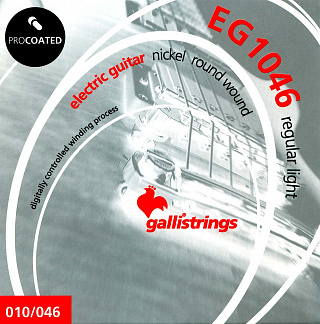 Струны GALLI STRINGS EG1046