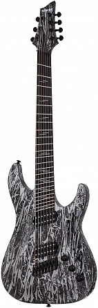 Электрогитара SCHECTER C-7 MULTISCALE SILVER MOUTAIN
