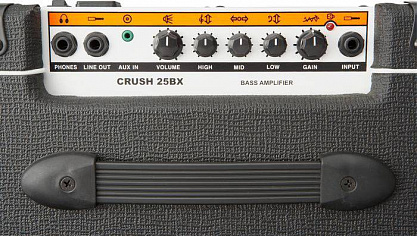Басовый комбо ORANGE CR25BX BK Crush Pix Bass