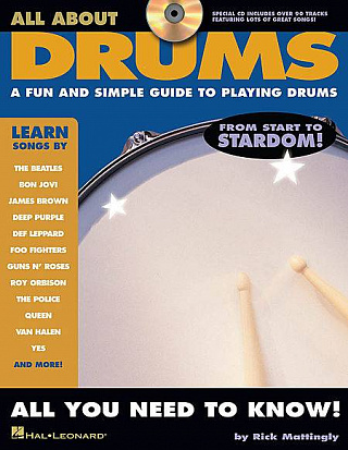 HAL LEONARD DRMINS ALL ABOUT DRUMS BK/CD