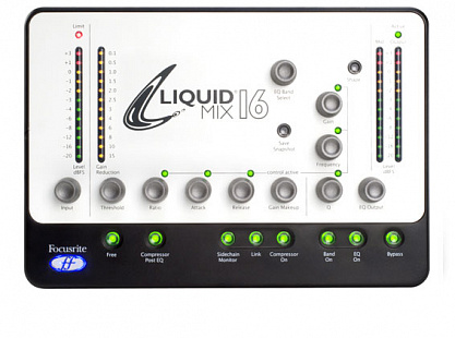 АУДИО ИНТЕРФЕЙС FOCUSRITE LIQUID MIX 16 Firewire