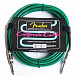 ГИТАРНЫЙ ШНУР FENDER 18' CALIFORNIA CABLE SURF GREEN