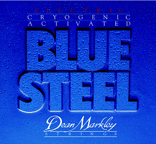 СТРУНЫ DEAN MARKLEY BLUE STEEL ELECTRIC 2552A LT-7