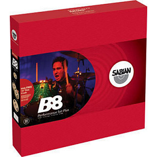 КОМПЛЕКТ ТАРЕЛОК SABIAN B8 PERFOMANCE SET PLUS
