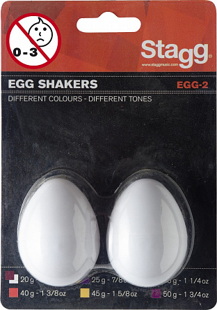 ШЕЙКЕРЫ STAGG EGG-2 WH