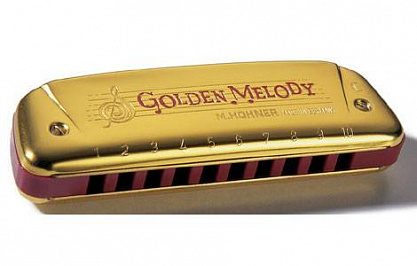 ГУБНАЯ ГАРМОШКА HOHNER GOLDEN MELODY 543/20 C