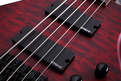 БАС-ГИТАРА SCHECTER STILETTO CUSTOM-5 VRS