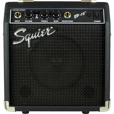 ЭЛЕКТРОГИТАРА FENDER SQUIER SE SPECIAL/SQUIER SP-10 AMPLIFIER ARCTIC WHITE
