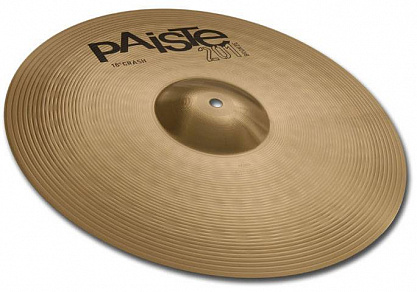 "ТАРЕЛКА PAISTE 18"" CRASH 201 BRONZE"