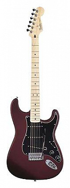 ЭЛЕКТРОГИТАРА FENDER STANDARD STRATOCASTER SATIN MN MIDNIGHT WINE