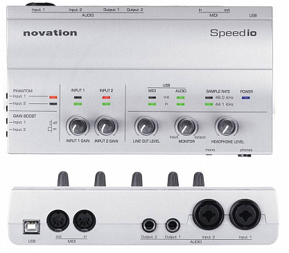 AUDIO-ИНТЕРФЕЙС NOVATION SPEEDIO