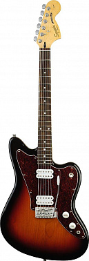 ЭЛЕКТРОГИТАРА FENDER SQUIER JAGMASTER SS RW 3 COLOR SUNBURST