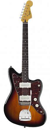 FENDER SQUIER VINTAGE MODIFIED JAZZMASTER RW 3-COLOR SUNBURST