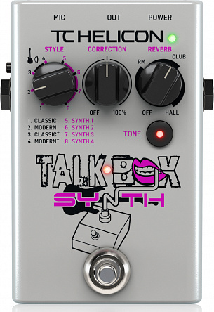 Педаль эффектов TC HELICON TALKBOX SYNTH