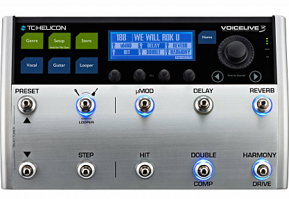 Процессор эффектов TC HELICON VOICELIVE 3