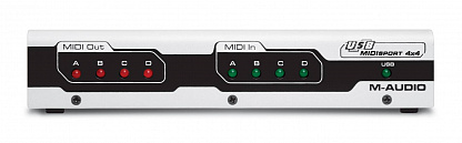 MIDI ИНТЕРФЕЙС M-AUDIO MIDISPORT 4x4 USB